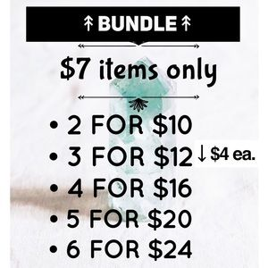 🌿2 for $10 / Bundle 3 or more for $4 each🌿